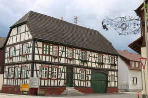 Half-timber House Neuberg Am Rhein Germany